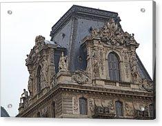 Louvre - Paris France - 011328 Acrylic Print by DC Photographer