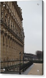 Louvre - Paris France - 011330 Acrylic Print by DC Photographer