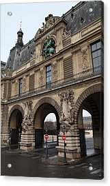 Louvre - Paris France - 011334 Acrylic Print
