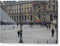 Louvre - Paris France - 01134 Acrylic Print