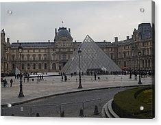 Louvre - Paris France - 01136 Acrylic Print by DC Photographer