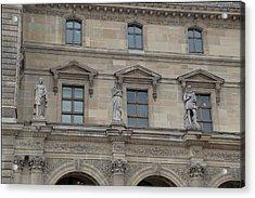 Louvre - Paris France - 01137 Acrylic Print