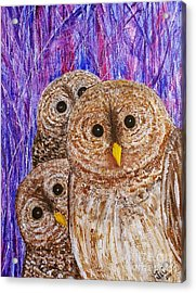 Lovable Acrylic Print by Jane Chesnut