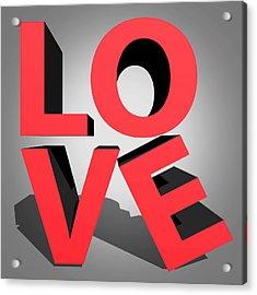 Love 2 Acrylic Print by Mark Ashkenazi