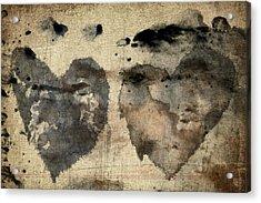 Love Abides Acrylic Print