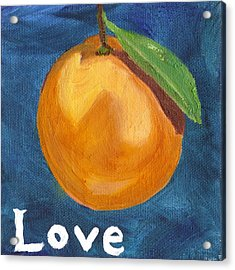 Love Acrylic Print by Amber Joy Eifler