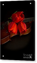 Love And Romance Acrylic Print by Edward Fielding