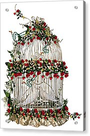 Love And Roses Acrylic Print