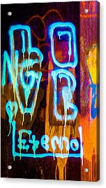 Love And Something Else Acrylic Print by Bob Orsillo