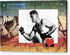 Love And War Dempsey Acrylic Print