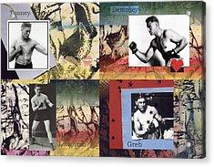 Love And War Roaring 20s Acrylic Print