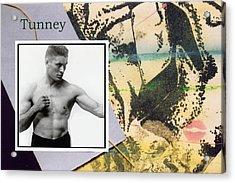 Love And War Tunney Acrylic Print