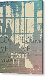 Love At Longwood Acrylic Print