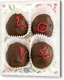 Love Cakes Acrylic Print by Edward Fielding