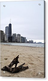Love Chicago Acrylic Print