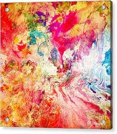 Love Acrylic Print by Donika Nikova