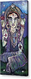 Love For Parvati Acrylic Print by Laurie Maves ART