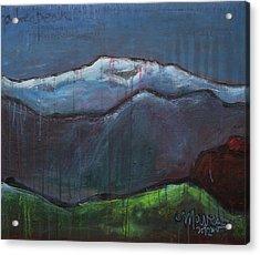 Love For Pikes Peak Acrylic Print