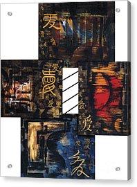 Love Four Seasons Acrylic Print