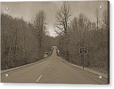 Love Gap Blue Ridge Parkway Acrylic Print by Betsy Knapp