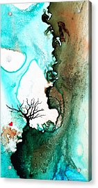 Love Has No Fear - Art By Sharon Cummings Acrylic Print by Sharon Cummings