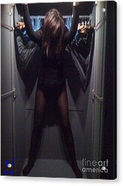 Love In An Elevator - Merry Christmas  Aerosmith -  Steven Tyler. Viewed 71 Times  Acrylic Print by  Andrzej Goszcz