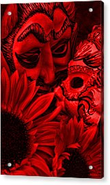 Love In Hell Acrylic Print