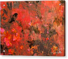 Love In Red 3 Acrylic Print