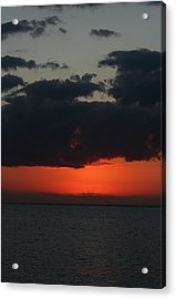 Love Is A Burning Thing Acrylic Print by Laurie Search