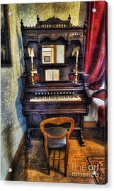 Love Is Called My Old Piano Acrylic Print by Ian Mitchell