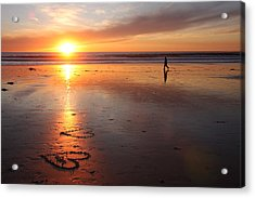 Acrylic Print featuring the photograph Love Is Close by Nathan Rupert