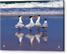 Love Is In The Air Acrylic Print by George Bostian
