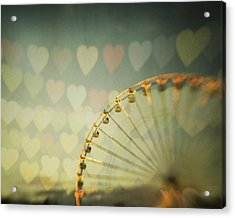 Love Is In The Air Acrylic Print by Irene Suchocki