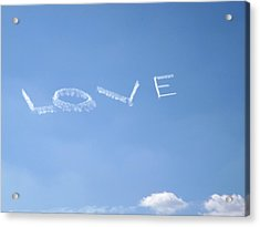 Acrylic Print featuring the photograph Love Is In The Air by Jodi Terracina