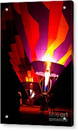 Acrylic Print featuring the photograph Love Is In The Air by Nancy Cupp