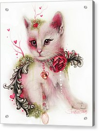 Love Is In The Air Acrylic Print by Sheena Pike