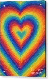 Love Acrylic Print by Jedidiah Morley