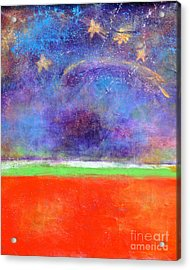 Love Land And Sky Acrylic Print by Johane Amirault