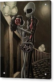 Love Acrylic Print by Lori Keilwitz
