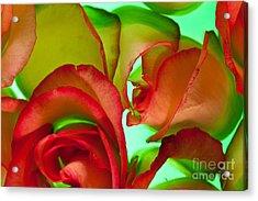 Love Me Tender Acrylic Print by Bobby Villapando