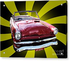 Love My Ford Acrylic Print