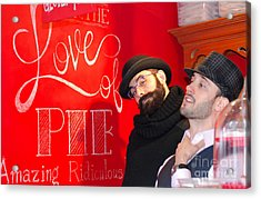 Love Of Pie Acrylic Print by Andrea Simon