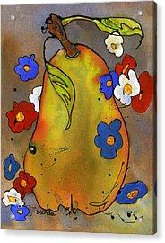 Love Pear  Acrylic Print by Blenda Studio