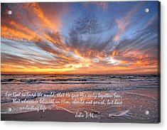 Love Personified Acrylic Print by HH Photography of Florida