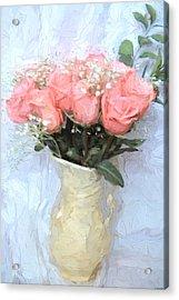 Love Silently - Flower Art Acrylic Print