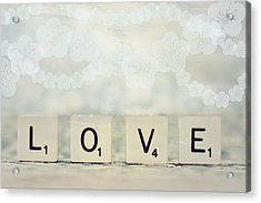 Love Spell Acrylic Print by Sofia Walker