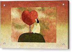 Love Tree -01b Acrylic Print by Variance Collections