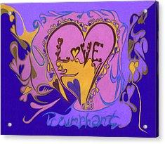 Love Triumphant Acrylic Print