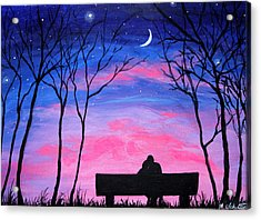 Love Under The Stars Acrylic Print