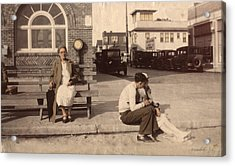 Acrylic Print featuring the photograph Love Waits by Ron Crabb